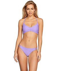 ca5c930a30c82 Volcom - Plus Size Simply Solid Bikini Bottom - Lyst