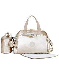 Kipling - Camama Solid Diaper Bag - Lyst