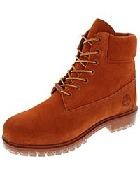 Timberland - 6 Inch Premium Suede Boot Canteen Waterbuck High-top - Lyst