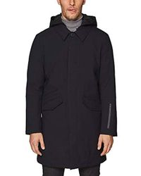 Esprit - 098ee2g014 Coat, Blue (navy 400), Medium (size: 48) - Lyst