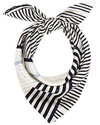 Calvin Klein - Silk Logo Foulard Giftpack Scarf - Lyst