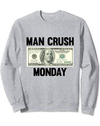 MCM - Man Crush Monday - Money Sweatshirt - Lyst
