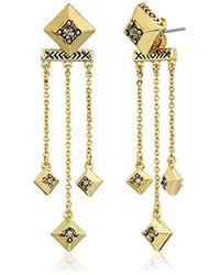 House of Harlow 1960 - S The Lyra Dangle Earrings - Lyst