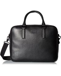 Ted Baker - Caracal Leather Document Bag - Lyst