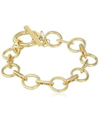 Kenneth Cole - Meridian Ombre Circle Link Toggle Bracelet - Lyst