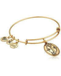 ALEX AND ANI - Key To Life Expandable Rafaelian Bangle Bracelet - Lyst