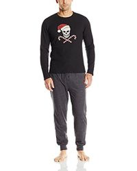 Lucky Brand - Giftset: Long Sleeve Thermal Crew And Jogger Pant - Lyst