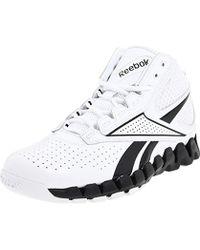 Reebok Zig Pro Future Basketball Shoe - White
