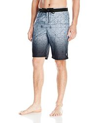 Calvin Klein - Ombe Maps Pattern E-board Swim Short - Lyst