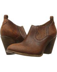 Frye - Ilana Shootie Boot - Lyst