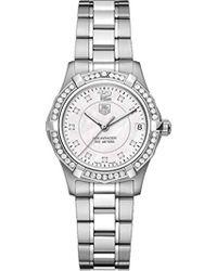 Tag Heuer - Waf1313.ba0819 Aquaracer Quartz Watch - Lyst