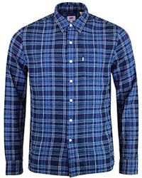 Levi's - S/s Sunset 1 Pkt Shirt Casual - Lyst