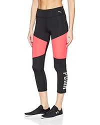 PUMA - Sharp Shape 3/4 Tight Leggings - Lyst