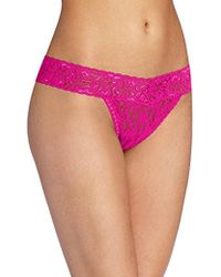 Maidenform - All Lace Thong Panty - Lyst