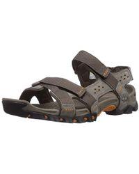 cercare le migliori scarpe spedizione gratuita Trailwind Backstrap, Sandali Uomo - Grigio