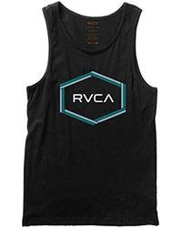 RVCA - Hexest Tank Top - Lyst