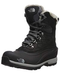 The North Face - S Chilkat 400 Faux Fur Closed Toe Mid-calf Cold Weather B. - Lyst
