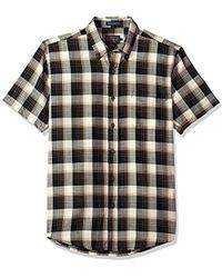 Pendleton - Short Sleeve Wool-lin Shirt - Lyst