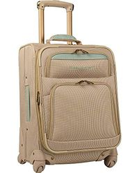 Tommy Bahama - Expandable Spinner Carry On Suitcase - Lyst