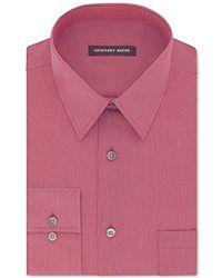 Geoffrey Beene - Regular Fit Textured Stripe Sateen Shirt - Lyst