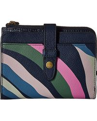 Fossil - Fiona Multifunction Wallet - Lyst