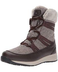 Yves Salomon - Heika Ltr Cs Waterproof Snow Boot - Lyst