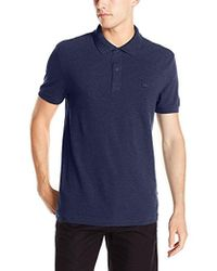 Lacoste - Short Sleeve Garment Dyed Vintage Polo - Lyst