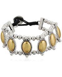 Lucky Brand - S Western Link Bracelet - Lyst