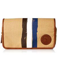 Tommy Bahama - Canvas Folding Travel Kit-khaki, One Size - Lyst