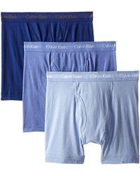 CALVIN KLEIN 205W39NYC - Cotton Classics Multipack Boxer Briefs - Lyst