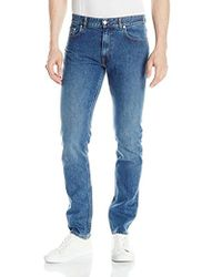 Lacoste - 5 Pocket Stretch Denim Slim Fit Pant, Hh9529-51 - Lyst