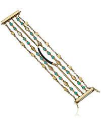 Lucky Brand - S Beaded Lucky Layer Bracelet - Lyst
