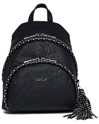 Replay - Fw3771.000.a0180b, 's Backpack Handbag, Black, 12x30x24 Cm (b X H T) - Lyst