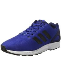 buy online be9d5 a4408 adidas - Zx Flux Trainers - Lyst