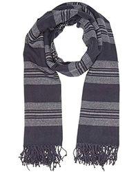 Levi's - Seasonal Stripe Wrap Shawl, (navy Blue), One (size: Un) - Lyst