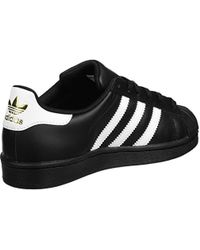 wholesale great fit check out adidas Originals Superstar Foundation, Trainers in Blue for ...