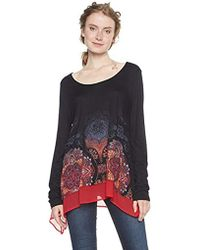 3a7e66811b1 Lyst - Women s Desigual T-shirts Online Sale