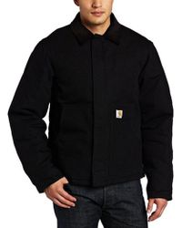 Carhartt - Big & Tall Arctic Quilt Lined Duck Traditional Jacket J002 - Lyst
