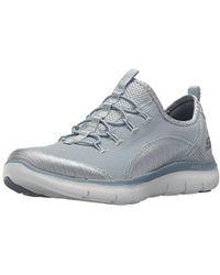 Skechers - Flex Appeal2.0 Mixed Media Sneaker - Lyst