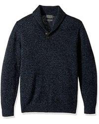 Pendleton - Shetland Shawl Collar Oullover Sweater - Lyst