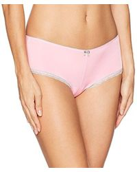 Betsey Johnson - Perfectly Sexy Cheeky Hipster Panty - Lyst