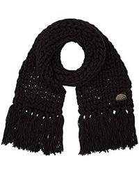 Levi's - Chunky Knit Oversized Scarf - Lyst