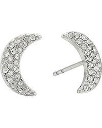 Fossil - S Glitz Moon Earrings Jackets - Lyst