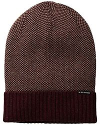Lyst - Bdg Crochet Stitch Slouchy Beanie in Brown e46351b4a724