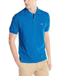 Lacoste - Short Sleeve Classic Chine Fabric L.12.64 Original Fit Polo Shirt, X-small - Lyst