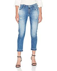 Guess - Vanille Buttons Slim Jeans - Lyst