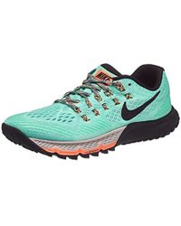 2e9c6e232f840 Nike  s W Air Zoom Terra Kiger 3 Trail Running Shoes in Gray - Lyst