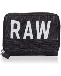 G-Star RAW - Depax Zipper Wallet - Lyst