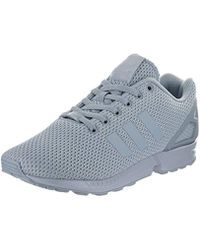 7c7ca558e791 Lyst - Adidas Originals Zx Flux Fashion Sneaker in Blue for Men
