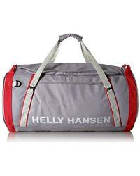 Helly Hansen - Hh Duffel Bag 2 Borsone, 45 cm, 70 liters, Grigio (Silver Grey) - Lyst